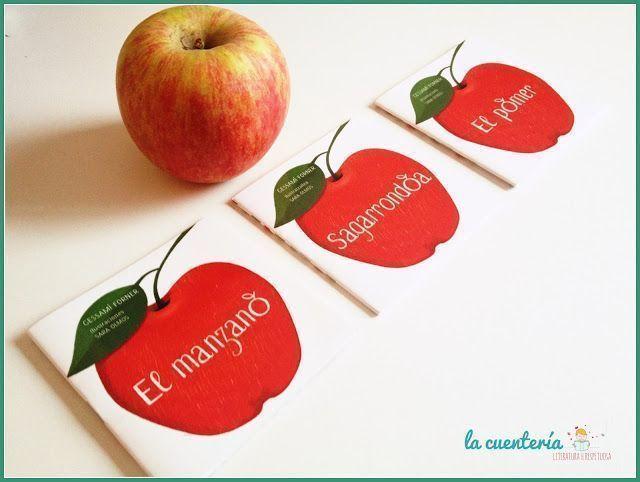 Detalle libro mini El Manzano
