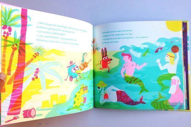 Libro infantil ilustrado Leotolda