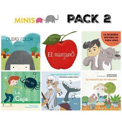 Cuentos minis Pack 2
