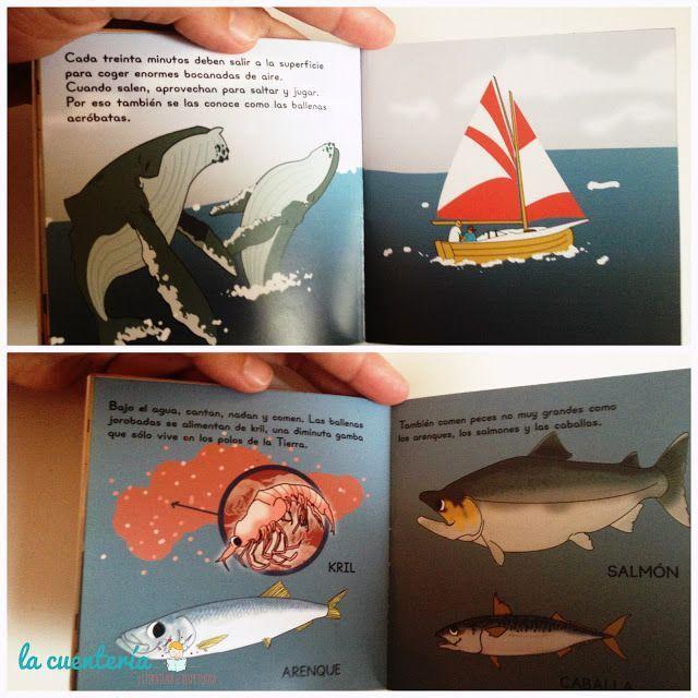Detalle cuento Los cantantes del mar