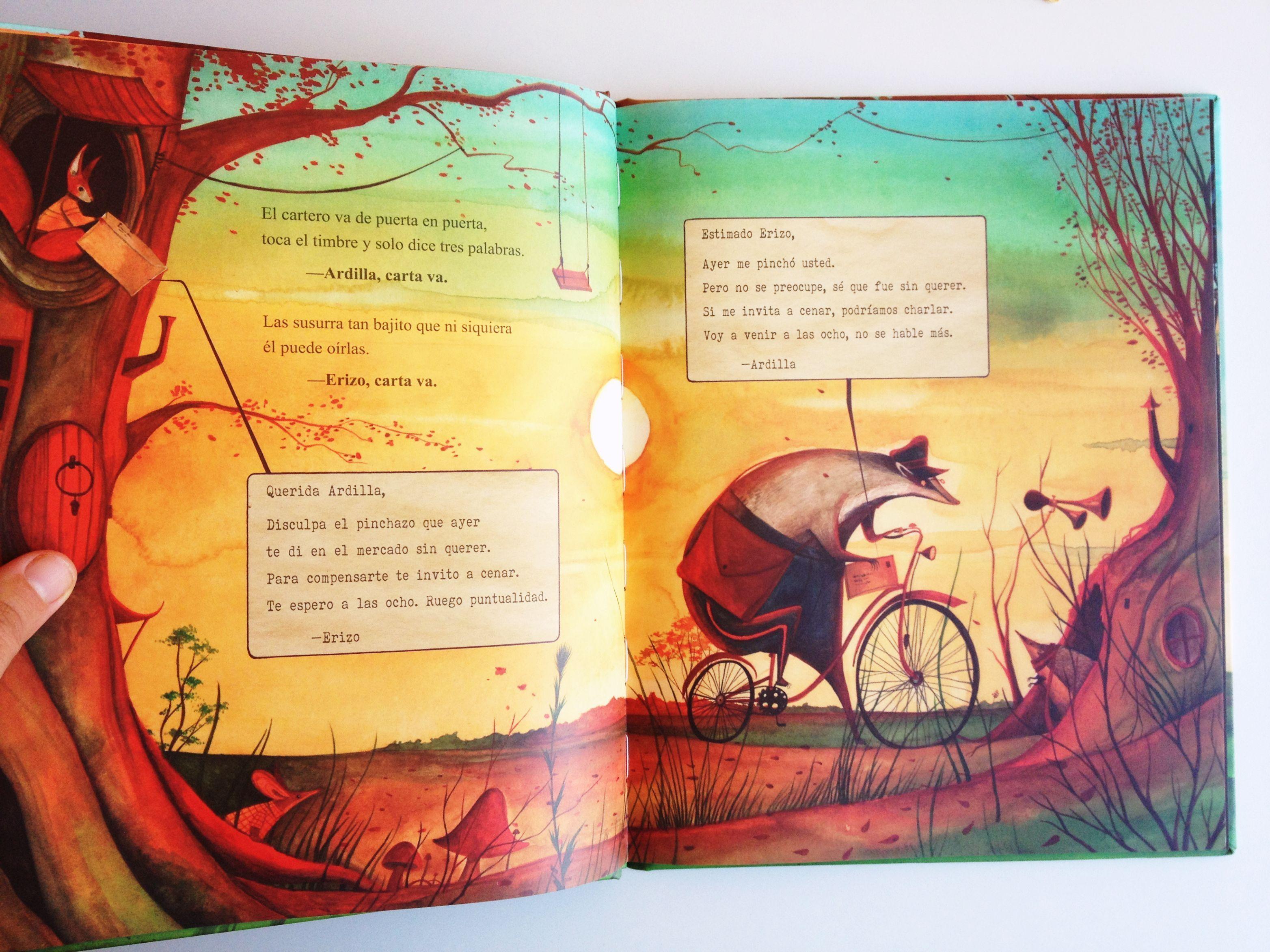 cuentos cartas en el bosque