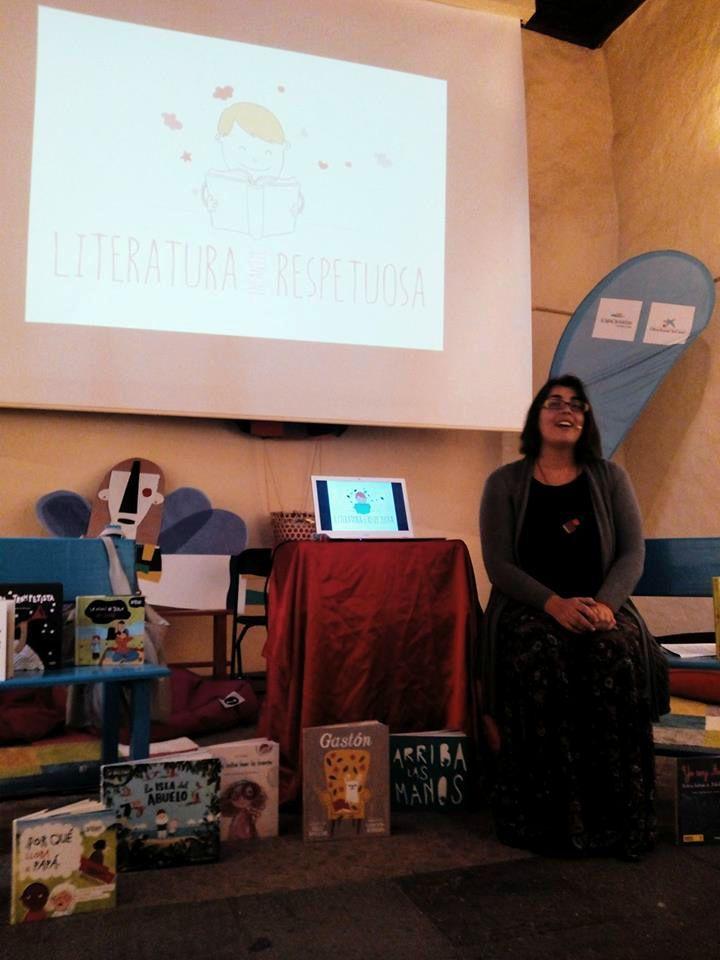 charla literatura respetuosa Tenerife Los Silos 2016