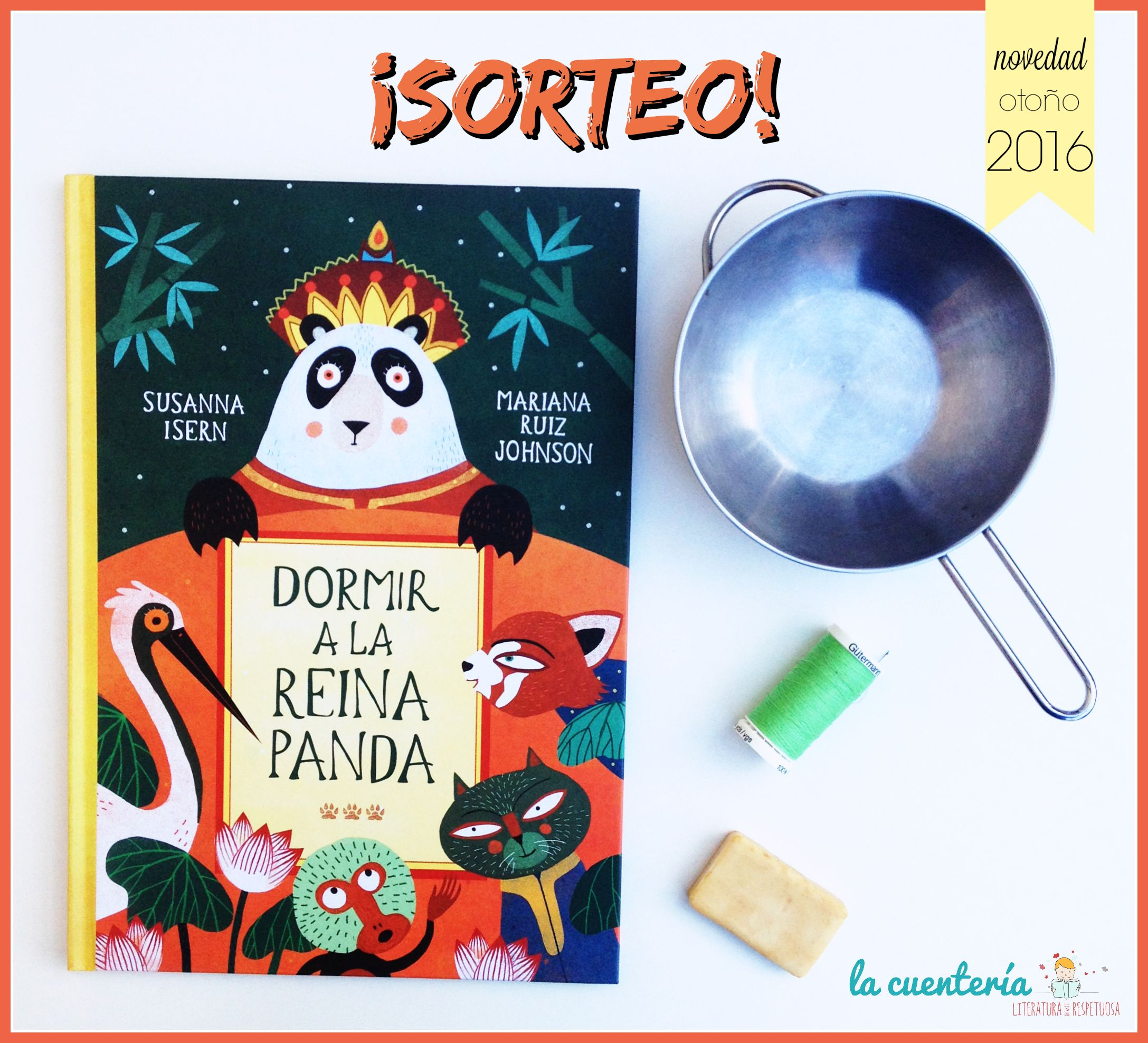 DORMIR A LA REINA PANDA