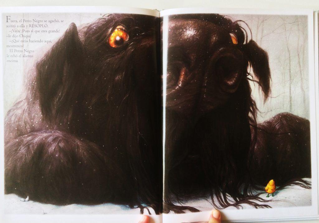 el perro negro cuento
