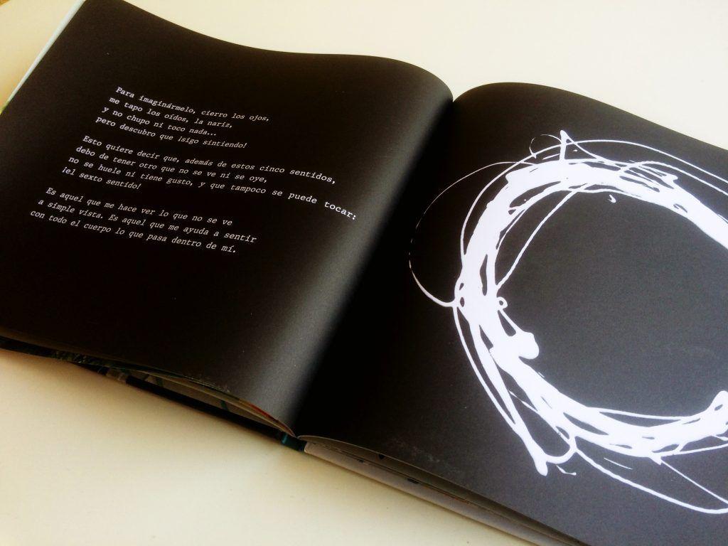 el sexto sentido álbum ilustrado libro cuento