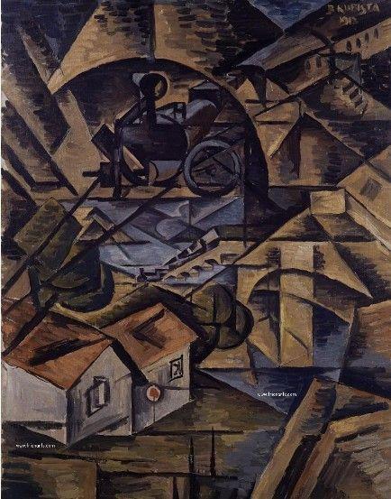 cuadro cubista Bohumil