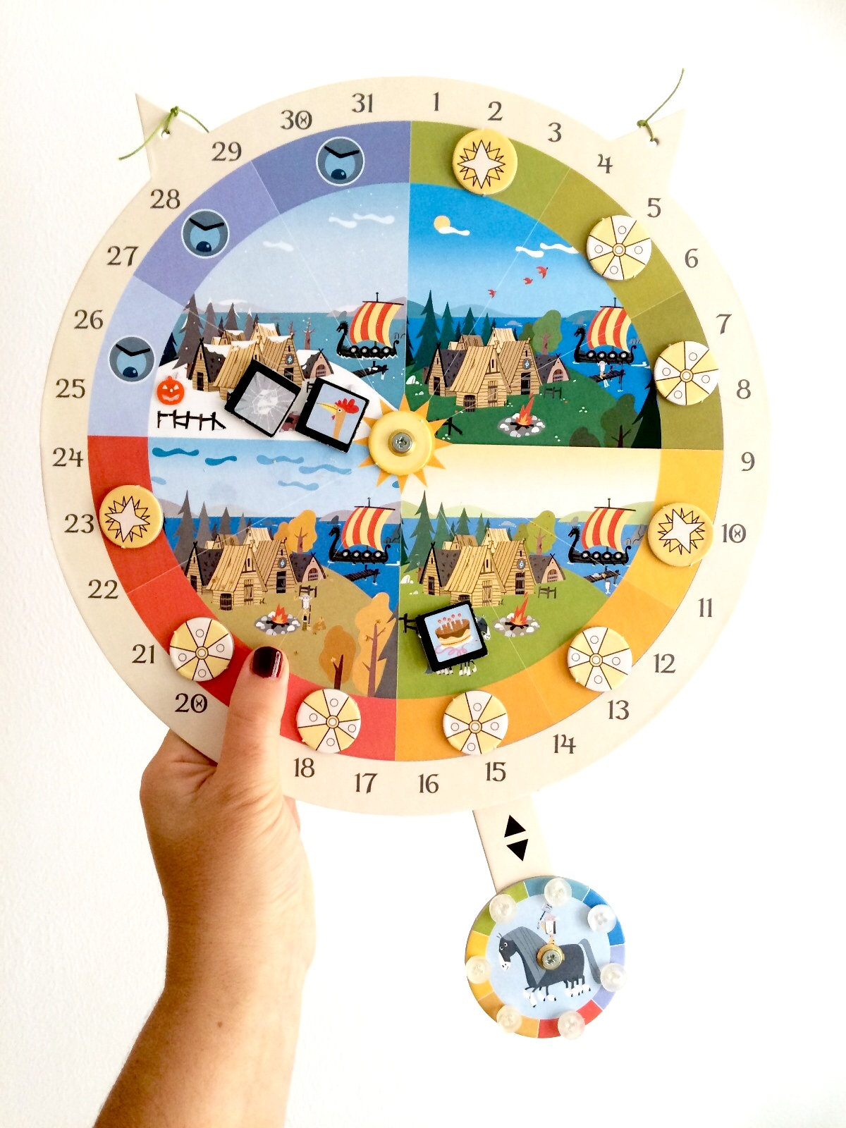 calendario montessori waldorf
