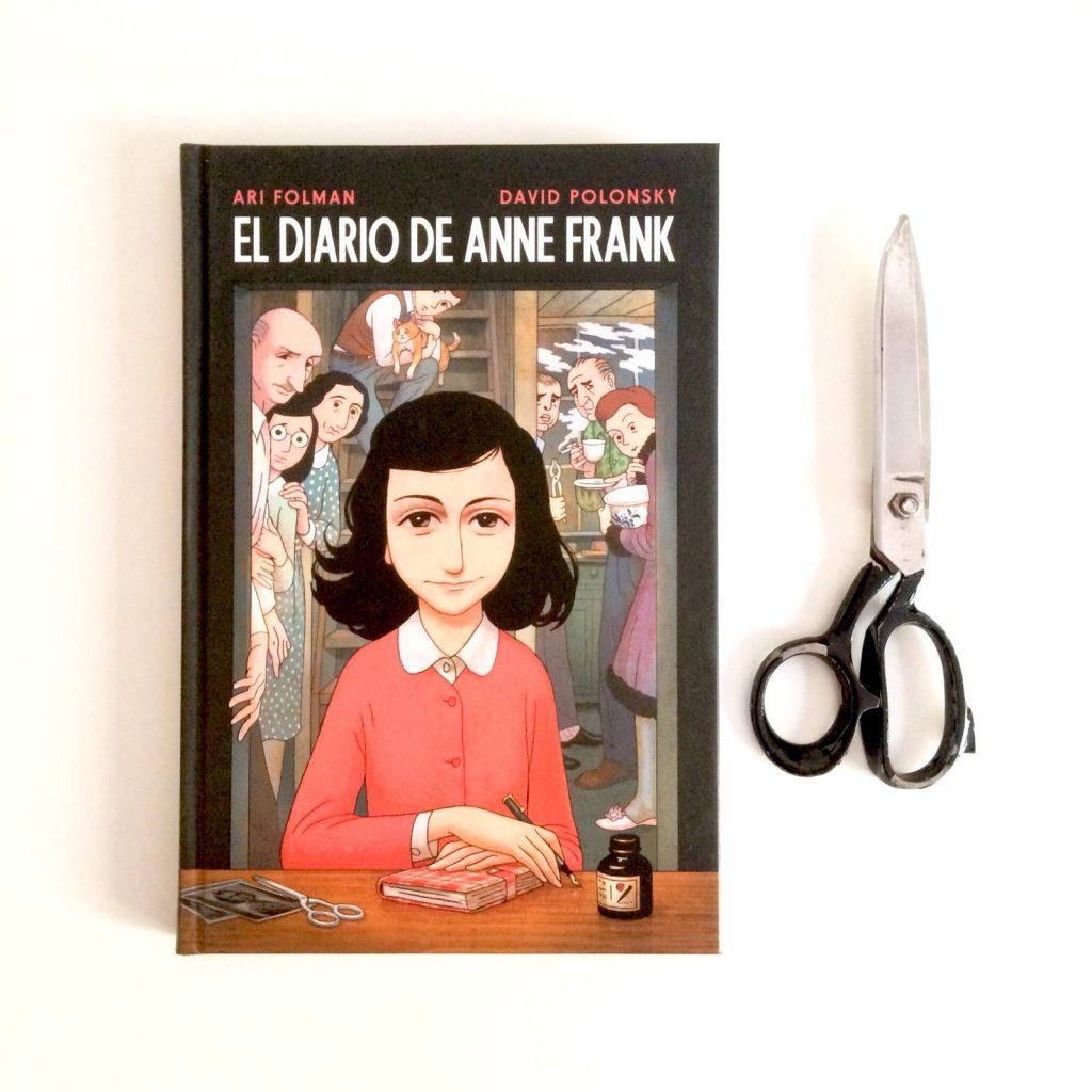 el diario de anne frank novela gráfica