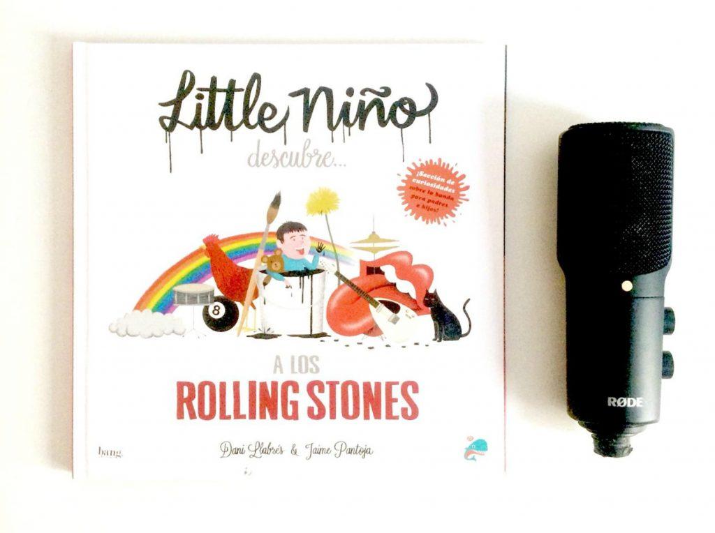 little niño descubre los rolling stones