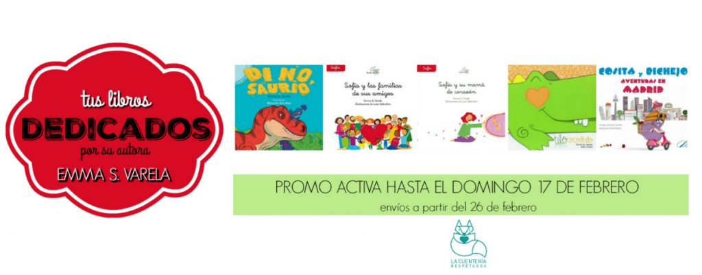 libros dedicados Emma Varela