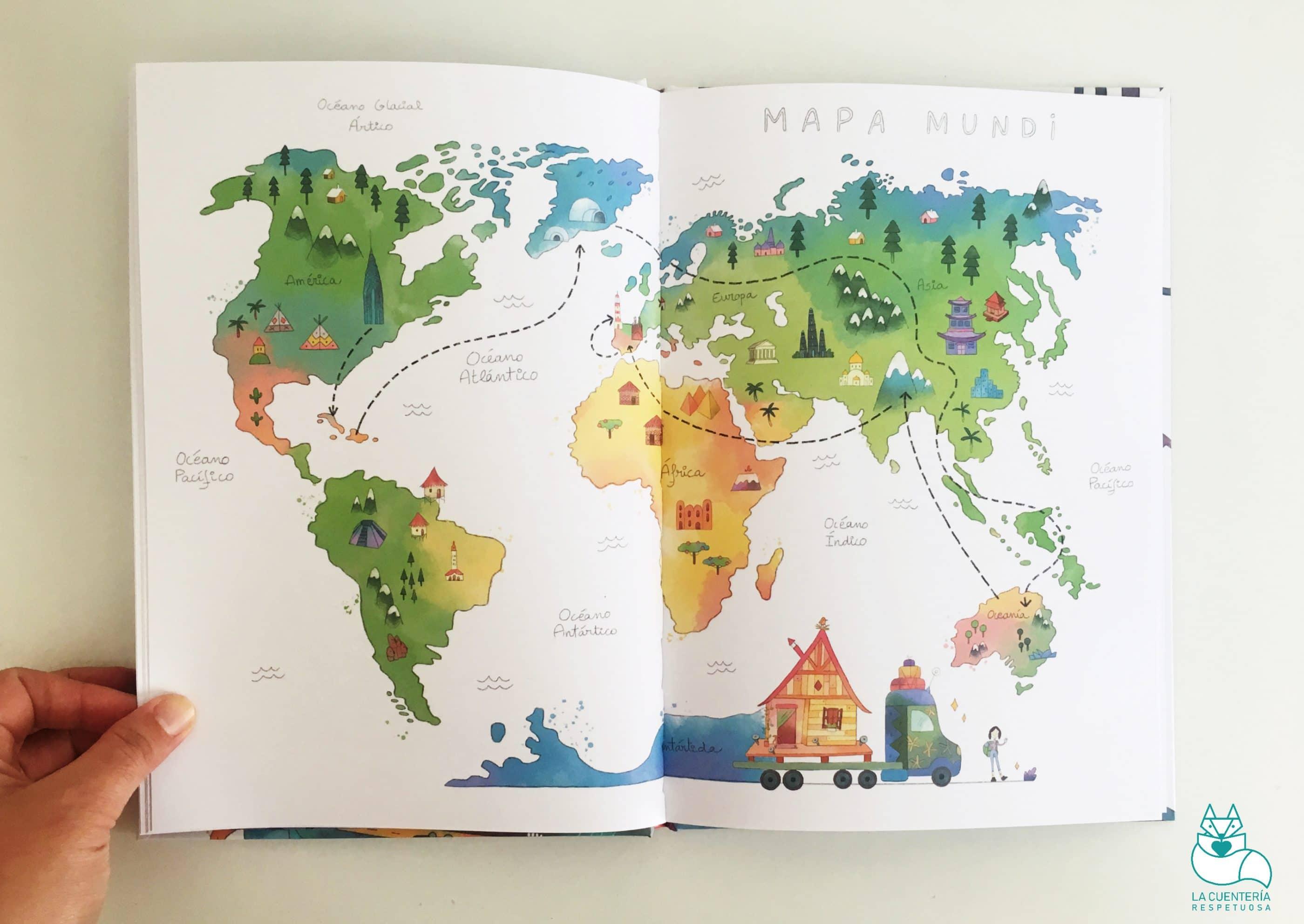 el mapamundi de Gusti