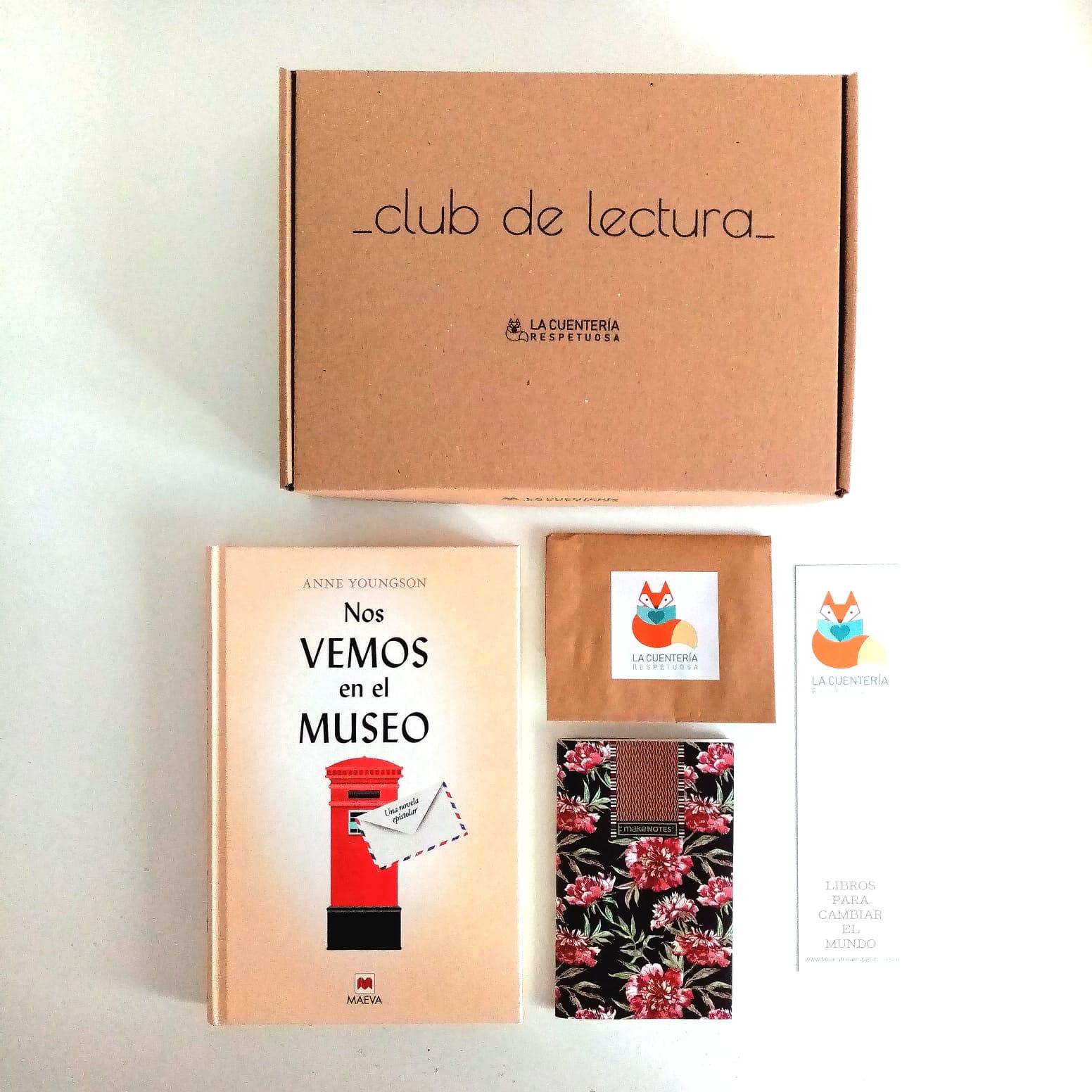 cesta club de lectura