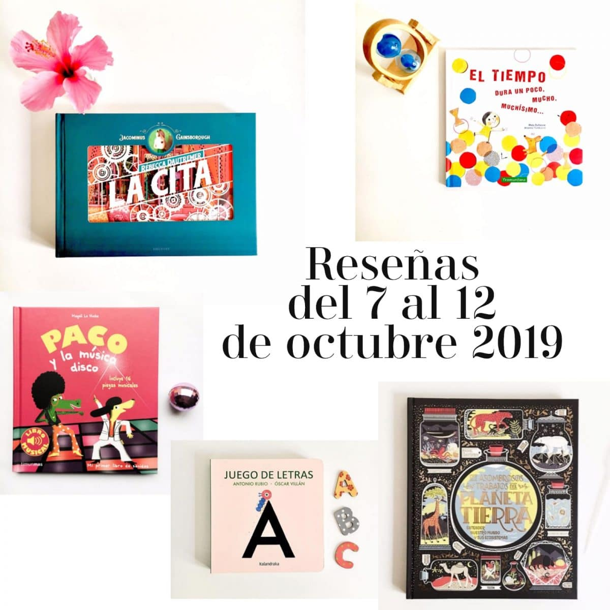 reseñas segunda semana octubre 2019
