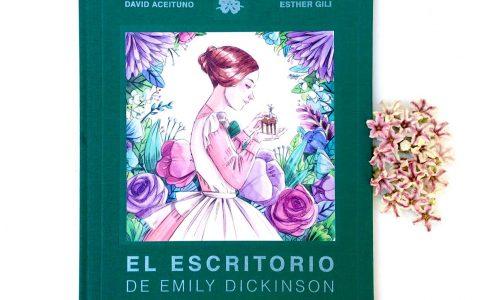 El escritorio de Emily Dickinson portada