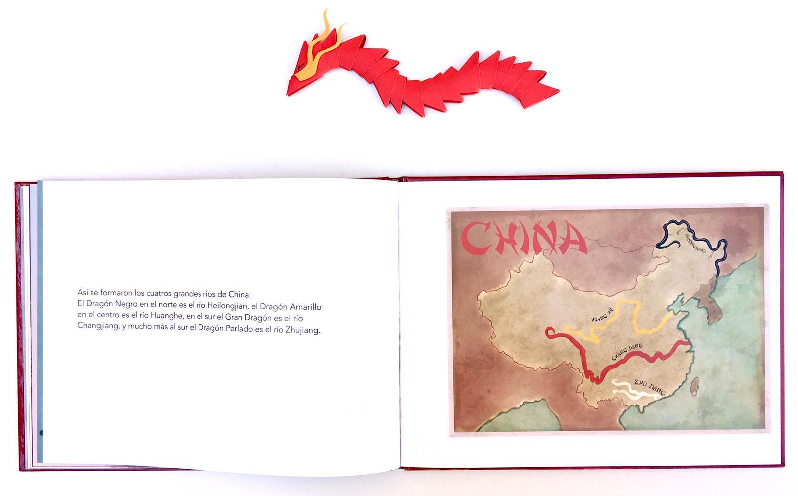 cuatro dragones rios